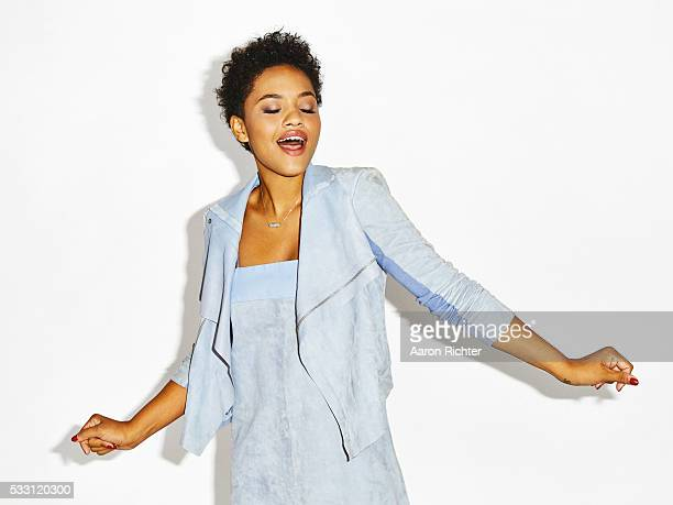 Actress Kiersey Clemons is photographed for Refinery29 in 2015 in New York City