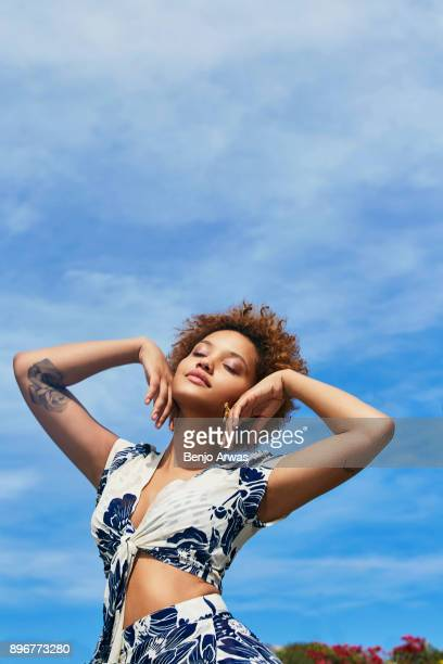 Actress Kiersey Clemons is photographed for Refinery29 on July 15 2015 in Los Angeles California