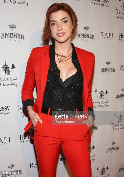 Actress Kiersten Dolbec attends the media night preview of BROKEN Code BIRD Switching at S Feury Theater on November 16 2019 in Los Angeles California