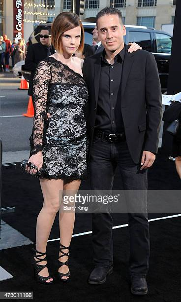 Actress Kiersten Warren and actor Kirk Acevedo attend the premiere of 'The Water Diviner' at TCL Chinese Theatre IMAX on April 16 2015 in Hollywood...