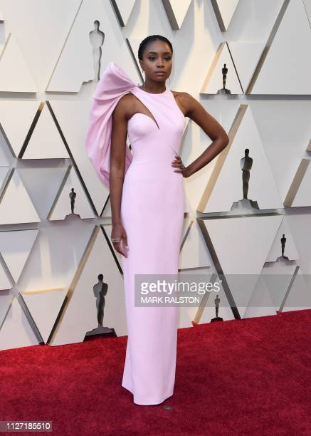 Actress Kiki Layne arrives for the 91st Annual Academy Awards at the Dolby Theatre in Hollywood California on February 24 2019