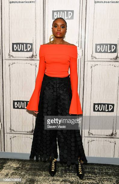 Actress KiKi Layne attends Build Series to discuss romantic drama film If Beale Street Could Talk at Build Studio on November 28 2018 in New York City