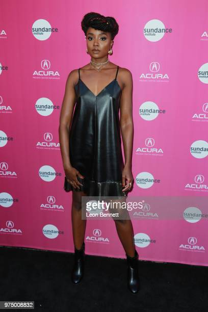 Actress Kiki Layne attends Sundance Institute At Sundown at The Theatre at Ace Hotel on June 14 2018 in Los Angeles California