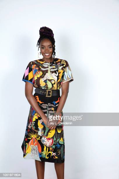 Actress Kiki Layne, from 'If Beale Street Could Talk' is photographed for Los Angeles Times on September 8, 2018 in Toronto, Ontario. PUBLISHED...