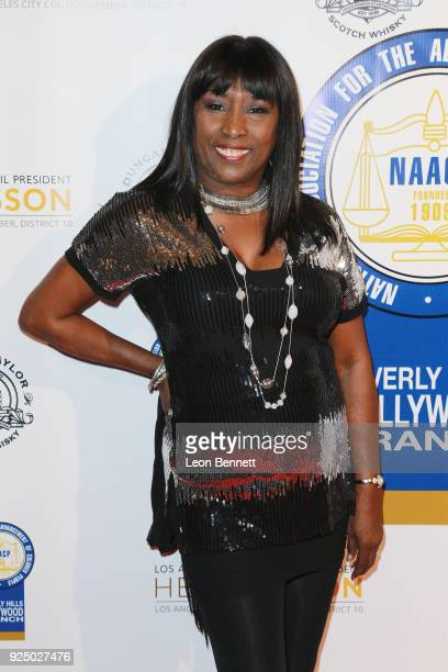 Actress Kiki Shepard attends the 27th Annual NAACP Theatre Awards at Millennium Biltmore Hotel on February 26 2018 in Los Angeles California