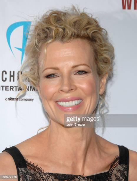 Actress Kim Basinger arrives at the Los Angeles premiere of 'While She Was Out' at the ArcLight Theater on December 9 2008 in Los Angeles California