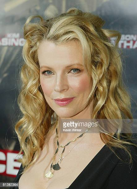 Actress Kim Basinger arrives at the premiere of New Line Cinemas Cellular on September 9 2004 at the Cinerama Dome in Los Angeles California