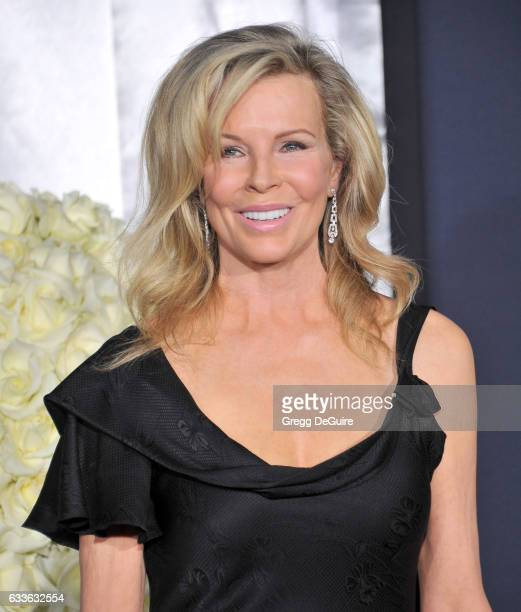 Actress Kim Basinger arrives at the premiere of Universal Pictures' Fifty Shades Darker at The Theatre at Ace Hotel on February 2 2017 in Los Angeles...