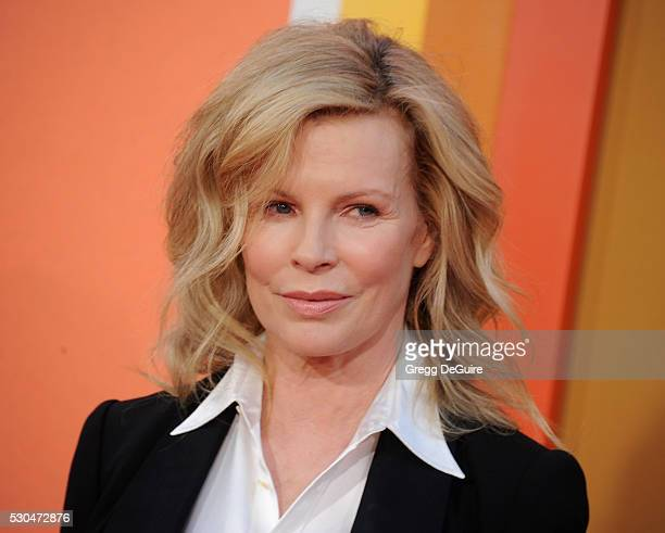 Actress Kim Basinger arrives at the premiere of Warner Bros Pictures' 'The Nice Guys' at TCL Chinese Theatre on May 10 2016 in Hollywood California