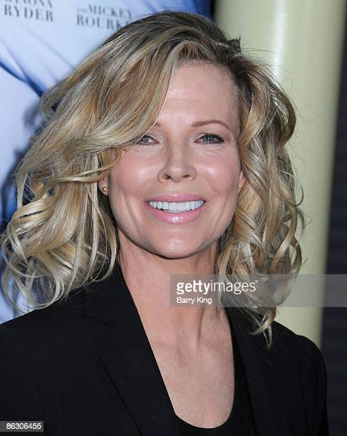 Actress Kim Basinger arrives to the Los Angeles premiere of The Informers held at Arclight Theatres on April 16 2009 in Hollywood California