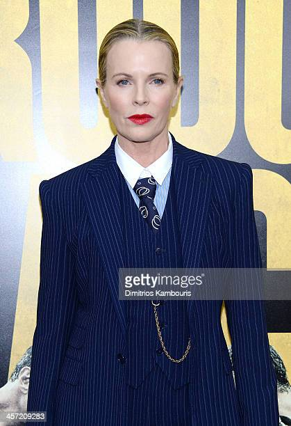 Actress Kim Basinger attends the Grudge Match screening benefiting the Tribeca Film Insititute at Ziegfeld Theater on December 16 2013 in New York...
