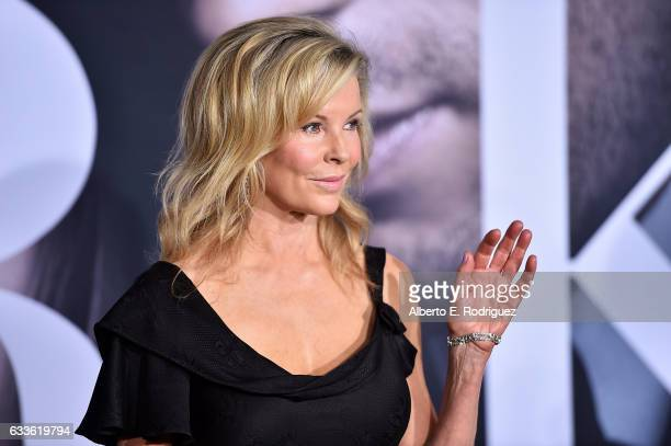 Actress Kim Basinger attends the premiere of Universal Pictures' 'Fifty Shades Darker' at The Theatre at Ace Hotel on February 2 2017 in Los Angeles...