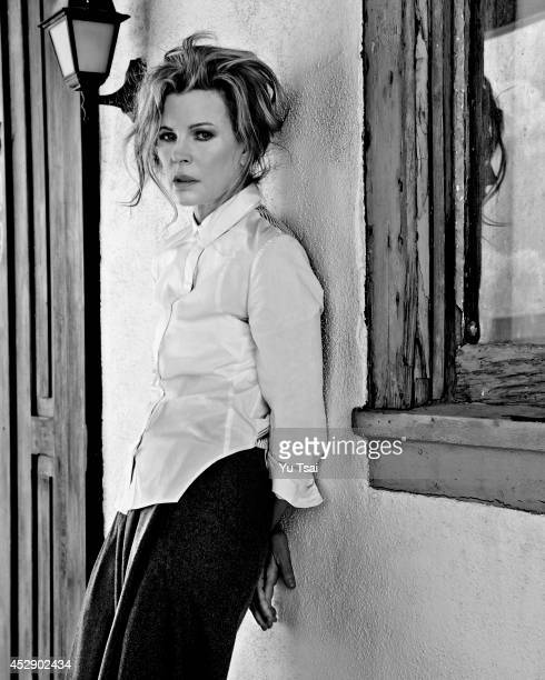 Actress Kim Basinger is photographed for Flaunt Magazine on May 23 2014 in Los Angeles California PUBLISHED IMAGE
