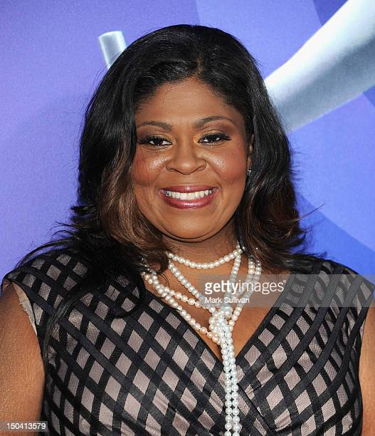 Actress Kim Burrell arrives for the Los Angeles premiere of Sparkle at Grauman's Chinese Theatre on August 16 2012 in Hollywood California