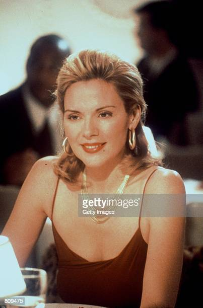 Actress Kim Cattrall acts in a scene from the HBO television series Sex and the City third season episode Politically Erect