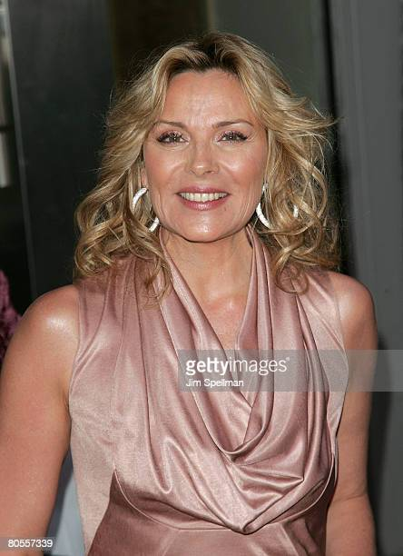 Actress Kim Cattrall arrives at Point Foundation Honors The Arts at Capitale on April 7 2008 in New York City