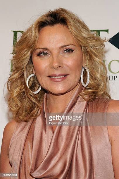 Actress Kim Cattrall arrives at the Point Foundation hosts Point Honors The Arts at Capitale on April 7 2008 in New York City
