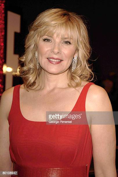 Actress Kim Cattrall attends the 2008 Annual Genie Awards at the Metro Toronto Convention Centre on March 3, 2008 in Toronto, Canada.