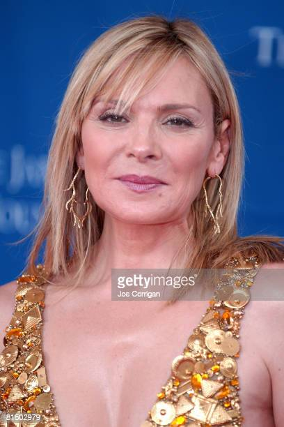 Actress Kim Cattrall attends The 2008 James Beard Foundation Awards on June 8 2008 at Avery Fisher Hall at Lincoln Center in New York City