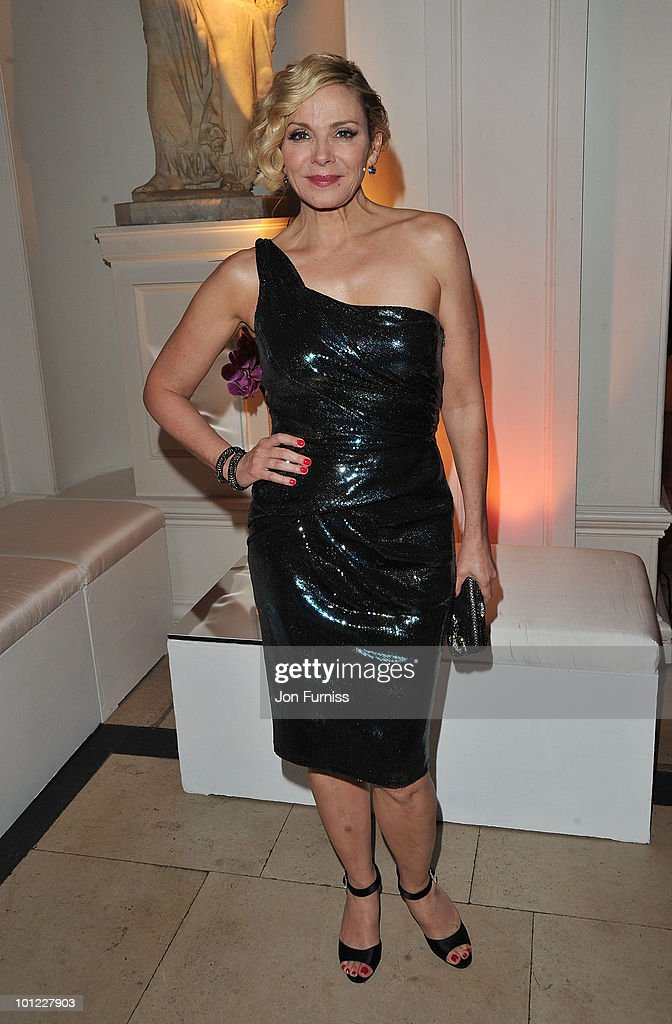 Actress Kim Cattrall attends the After Party of Sex And The City 2 at Kensington Palace on May 27, 2010 in London, England.