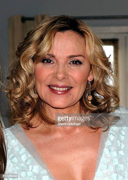 Actress Kim Cattrall attends the Annual Hamptons Magazine Memorial Day Celebration with Cover Star Kim Cattrall on May 24 2008 in Southampton New York