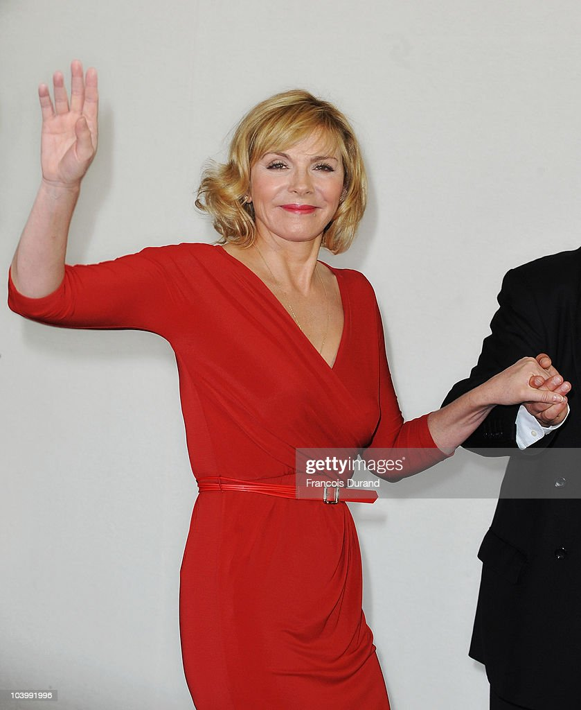 Actress Kim Cattrall attends the photocall for the film 'Meet Monica Velour' during the 36th Deauville American Film Festival on September 11, 2010 in Deauville, France.