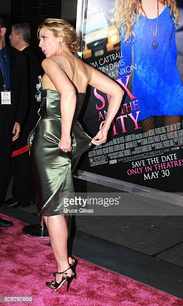 Actress Kim Cattrall attends the premiere of Sex and the City The Movie at Radio City Music Hall on May 27 2008 in New York City