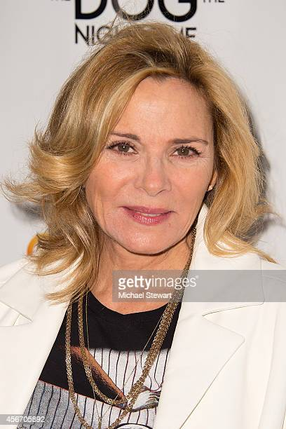 Actress Kim Cattrall attends the The Curious Incident Of The Dog In The NightTime Broadway Opening Night at The Ethel Barrymore Theatre on October 5...