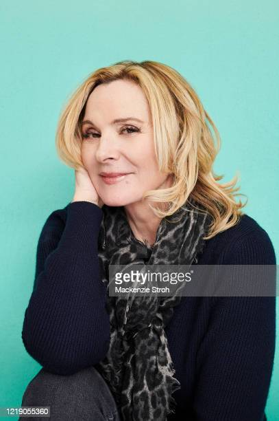 Actress Kim Cattrall is photographed for Entertainment Weekly Magazine on February 27, 2020 at Savannah College of Art and Design in Savannah,...
