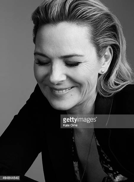 Actress Kim Cattrall is photographed for Self Assignment on March 16 in New York City