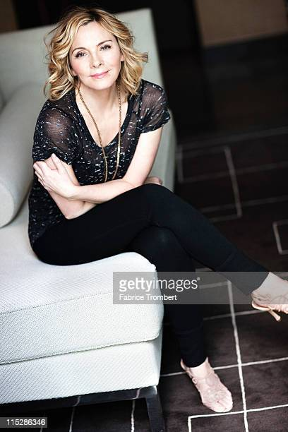 Actress Kim Cattrall photographed for Venice Magazine on March 22 2011 in New York City Published Images