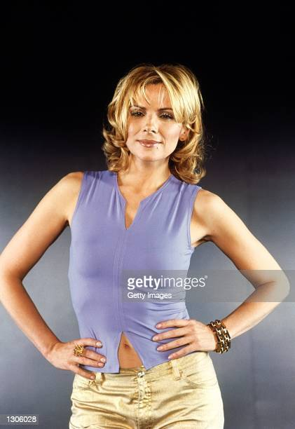 Actress Kim Cattrall stars in the comedy series 'Sex And The City' now in its third season
