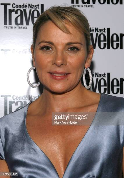 Actress Kim Cattrell during the Conde Nast Traveler celebration of 20 Years of Truth in Travel at Cooper Hewitt National Design Museum on October 10,...