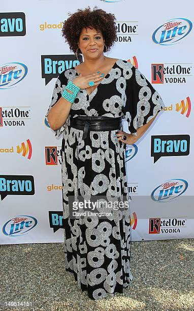Actress Kim Coles attends GLAAD's 'Bravo Top Chef Invasion' benefit event at a private residence on July 29 2012 in Los Angeles California