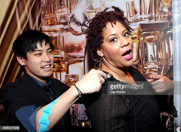 Actress Kim Coles attends the GRAMMY Gift Lounge during the 56th Grammy Awards at Staples Center on January 25 2014 in Los Angeles California