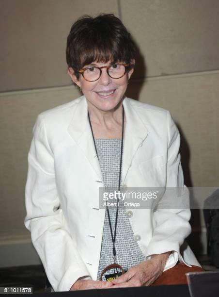 Actress Kim Darby signs autographs at The Hollywood Show held at Westin LAX Hotel on July 8 2017 in Los Angeles California