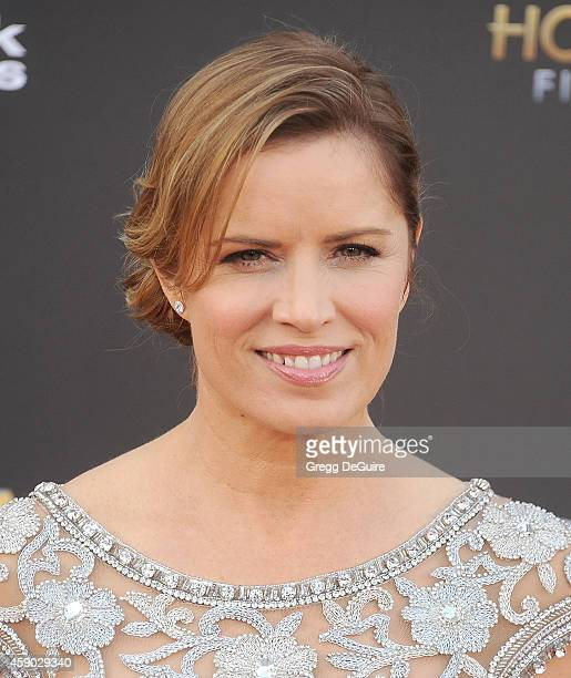 Actress Kim Dickens arrives at the 18th Annual Hollywood Film Awards at The Palladium on November 14 2014 in Hollywood California