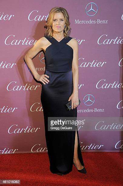 Actress Kim Dickens arrives at the 26th Annual Palm Springs International Film Festival Awards Gala Presented By Cartier at Palm Springs Convention...