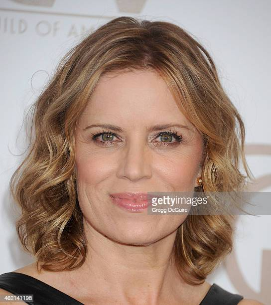Actress Kim Dickens arrives at the 26th Annual Producers Guild Of America Awards at the Hyatt Regency Century Plaza on January 24 2015 in Los Angeles...