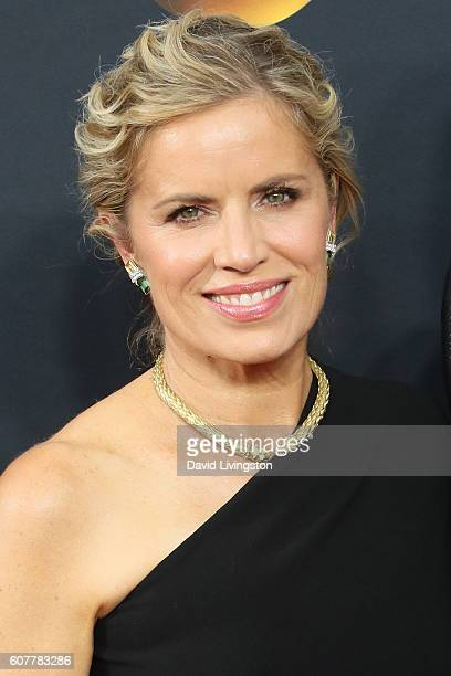 Actress Kim Dickens arrives at the 68th Annual Primetime Emmy Awards at the Microsoft Theater on September 18 2016 in Los Angeles California