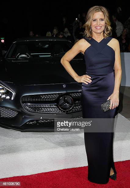 Actress Kim Dickens arrives with Mercedes-Benz at the 26th annual Palm Springs International Film Festival Awards Gala on January 3, 2015 in Palm...