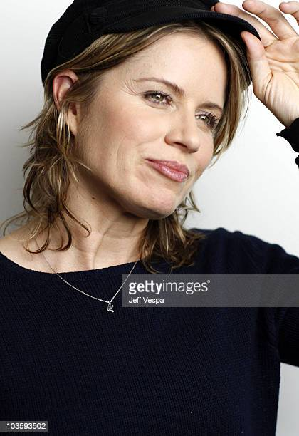 Actress Kim Dickens at the Sky360 by Delta Lounge WireImage Portrait Studio on January 20 2008 in Park City Utah