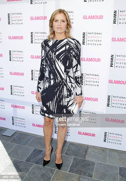 Actress Kim Dickens attends National Women's History Museum's 4th Annual 'Women Making History' brunch at Skirball Cultural Center on September 19...