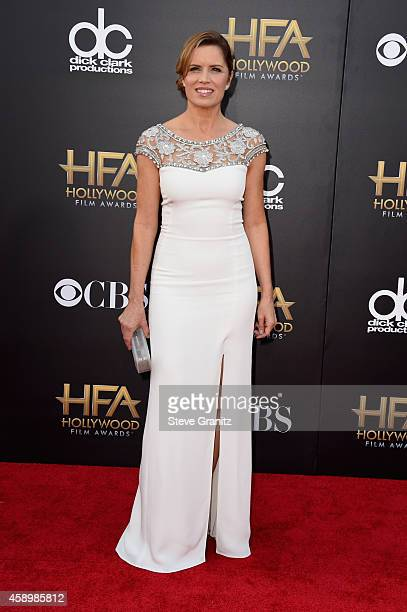 Actress Kim Dickens attends the 18th Annual Hollywood Film Awards at The Palladium on November 14 2014 in Hollywood California