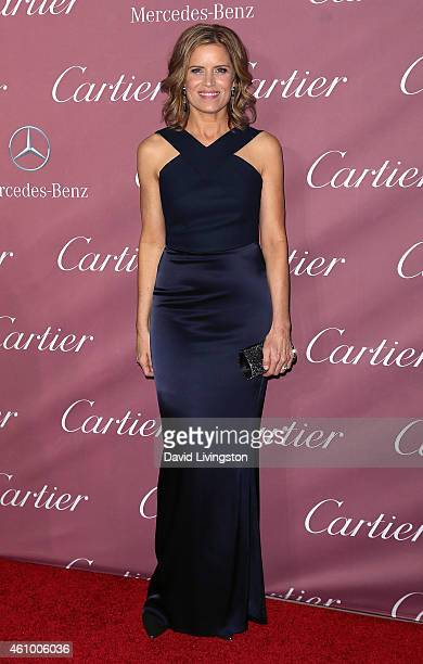 Actress Kim Dickens attends the 26th Annual Palm Springs International Film Festival Awards Gala at the Palm Springs Convention Center on January 3...