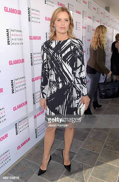 Actress Kim Dickens attends the 4th Annual Women Making History Brunch presented by the National Women's History Museum and Glamour Magazine at...