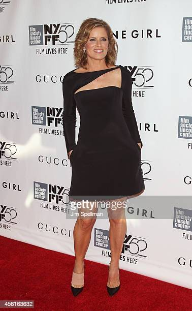Actress Kim Dickens attends the 52nd New York Film Festival Opening Night Gala Presentation and World Premiere Of 'Gone Girl' at Alice Tully Hall on...