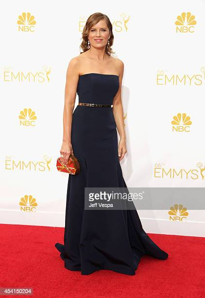 Actress Kim Dickens attends the 66th Annual Primetime Emmy Awards held at Nokia Theatre LA Live on August 25 2014 in Los Angeles California
