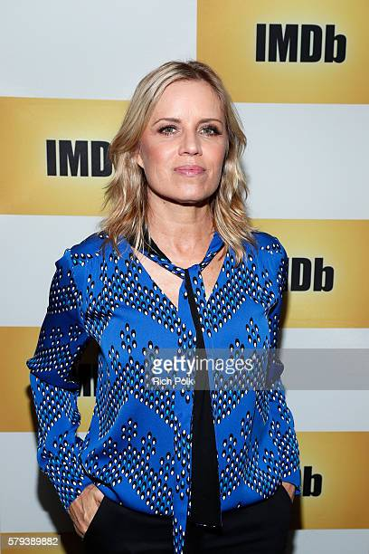 Actress Kim Dickens attends the IMDb Yacht at San Diego ComicCon 2016 Day Three at The IMDb Yacht on July 23 2016 in San Diego California