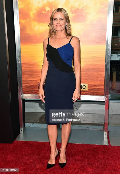 Actress Kim Dickens attends the premiere of AMC's Fear The Walking Dead Season 2 at Cinemark Playa Vista on March 29 2016 in Los Angeles California